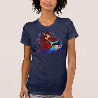 Fairy and Black Unicorn T-Shirt