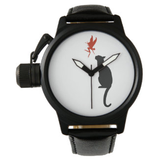 fairy and cat wristwatches