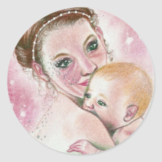 Fairy and Child Sticker