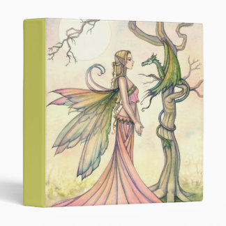 Fairy and Dragon Fantasy Art by Molly Harrison Vinyl Binders