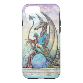 Fairy and Dragon Fantasy Art iPhone 7 Case