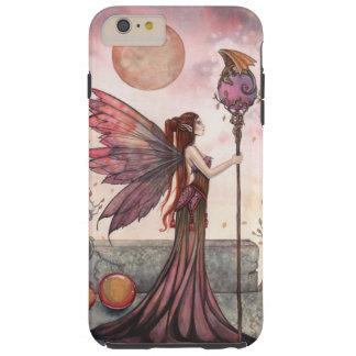 Fairy and Dragon Fantasy Art Tough iPhone 6 Plus Case