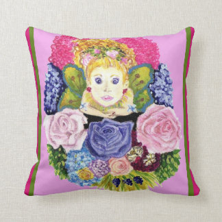 Fairy And Flowers American MoJo Pillow