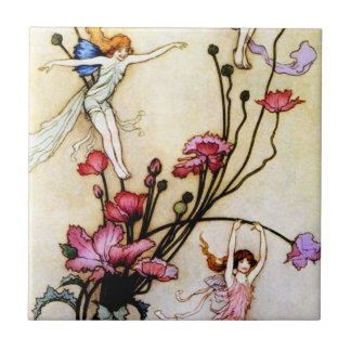 Fairy and Flowers Tile