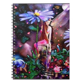 Fairy and gift notebook