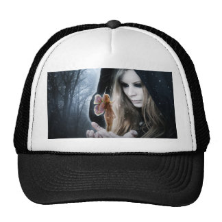 Fairy and Girl Trucker Hat
