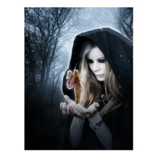 Fairy and Girl Postcard