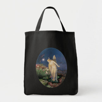 Fairy and Honey Bee Tote Bag