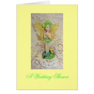 Fairy and Lace Stationery Note Card