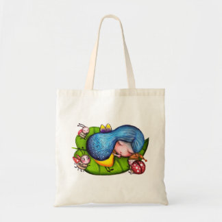 Fairy and Ladybirds Budget Tote Bag
