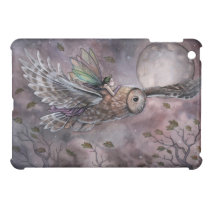 Fairy and Owl Fantasy Art iPad Case