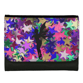 Fairy and Stars Leather Wallet For Women