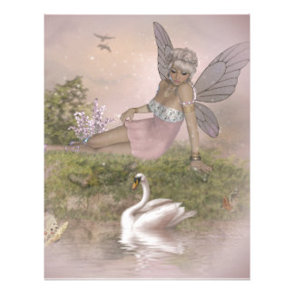 Fairy and Swan Letterhead