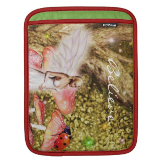 Fairy and the lady bug iPad sleeve
