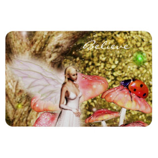 Fairy and the lady bug magnet
