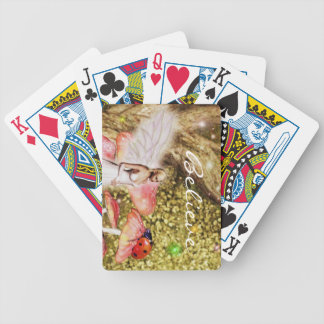 Fairy and the Lady bug playing cards