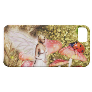 Fairy and the ladybug iPhone SE/5/5s case