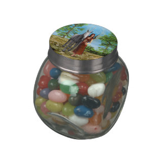 Fairy and Unicorn Jelly Belly Candy Jar