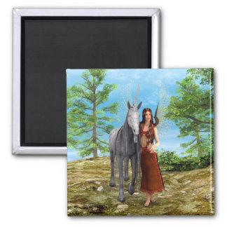 Fairy and Unicorn Magnet