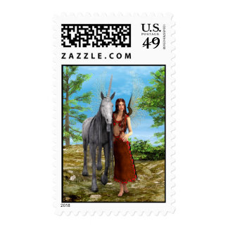 Fairy and Unicorn Postage