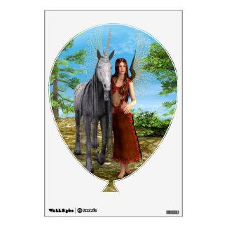 Fairy and Unicorn Wall Sticker