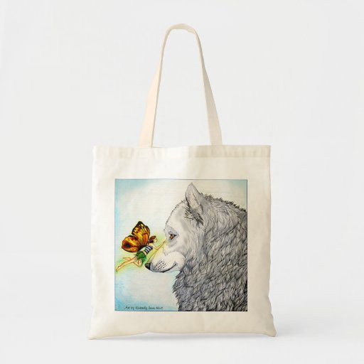 Fairy and Wolf bag