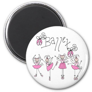 Fairy Angel Ballet Magnet