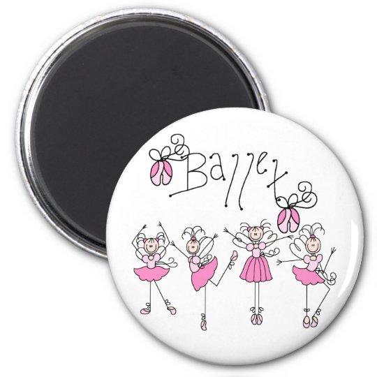 Fairy Angel Ballet Magnet