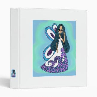 Fairy Angel Vinyl Binder