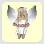 Fairy Angel Purity Square Sticker