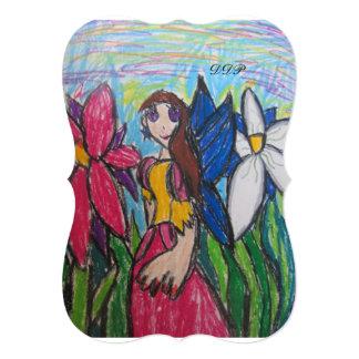 fairy art card