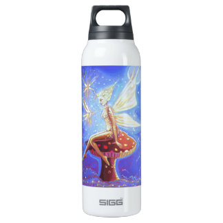 """Fairy Art - - """"Cloud Sprites"""" 16 Oz Insulated SIGG Thermos Water Bottle"""