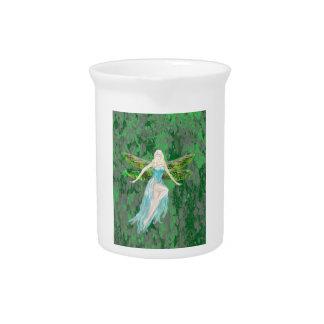 fairy art drink pitcher