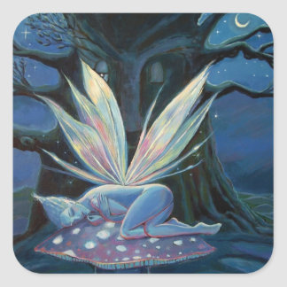 "Fairy Art Stickers - ""Wood Spirit"""