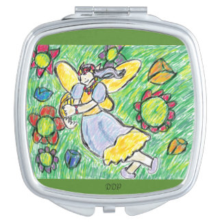 fairy art three makeup mirror
