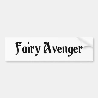 Fairy Avenger Bumper Sticker