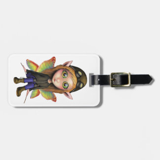 Fairy Aviator Tag For Luggage