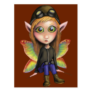 Fairy Aviator Postcard