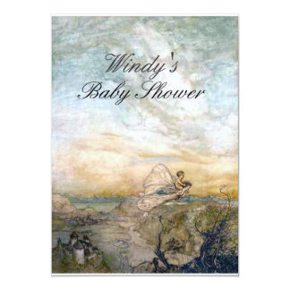 Fairy Baby Shower Invite