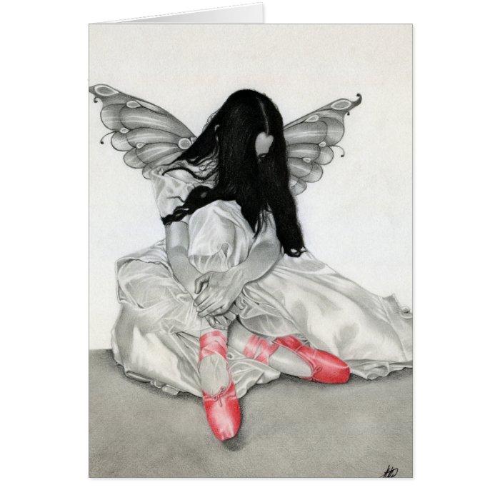 Fairy Ballerina Card