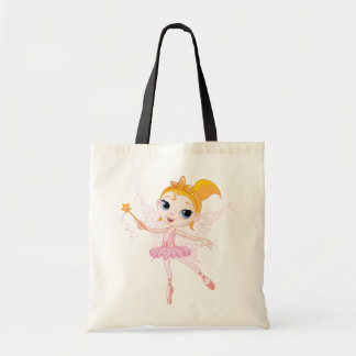 Fairy Ballerina Tote Bag
