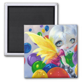 """Fairy Balloons"" Magnet"