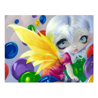 """Fairy Balloons"" Postcard"