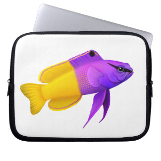 Fairy Basslet Royal Gramma Reef Fish Electronics B Computer Sleeve