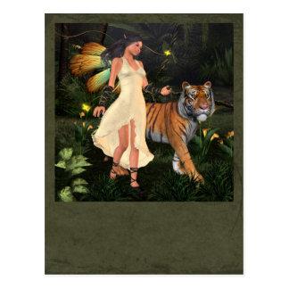 Fairy Beastmaster Postcard