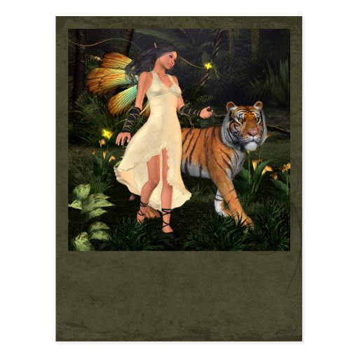 Fairy Beastmaster Post Cards