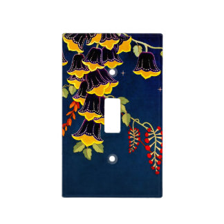"""Fairy Bells"" Light Switch Plate"