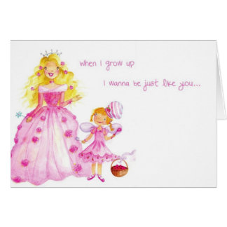 Fairy Berry and Princess Greeting Card