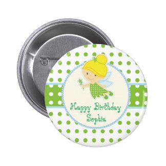 Fairy Birthday Button