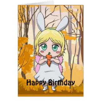 Fairy Birthday - Share my carrot Cards